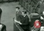 Image of Otto Ohlendorf plea war crimes trial Nuremberg Germany, 1948, second 59 stock footage video 65675021233