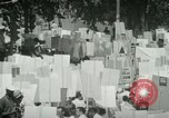 Image of American workers protest labor conditions United States USA, 1963, second 34 stock footage video 65675021237