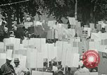 Image of American workers protest labor conditions United States USA, 1963, second 35 stock footage video 65675021237