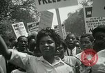 Image of American workers protest labor conditions United States USA, 1963, second 37 stock footage video 65675021237