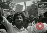 Image of American workers protest labor conditions United States USA, 1963, second 38 stock footage video 65675021237