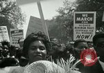 Image of American workers protest labor conditions United States USA, 1963, second 39 stock footage video 65675021237