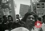 Image of American workers protest labor conditions United States USA, 1963, second 40 stock footage video 65675021237