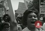 Image of American workers protest labor conditions United States USA, 1963, second 41 stock footage video 65675021237