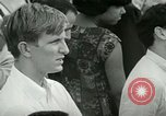Image of American workers protest labor conditions United States USA, 1963, second 47 stock footage video 65675021237