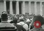 Image of American workers protest labor conditions United States USA, 1963, second 52 stock footage video 65675021237