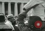 Image of American workers protest labor conditions United States USA, 1963, second 53 stock footage video 65675021237
