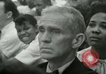 Image of American workers protest labor conditions United States USA, 1963, second 59 stock footage video 65675021237