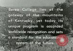 Image of the Berea College Berea Kentucky United States USA, 1933, second 59 stock footage video 65675021239