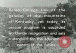 Image of the Berea College Berea Kentucky United States USA, 1933, second 60 stock footage video 65675021239