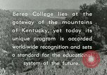 Image of the Berea College Berea Kentucky United States USA, 1933, second 61 stock footage video 65675021239
