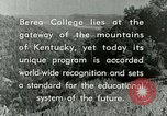 Image of the Berea College Berea Kentucky United States USA, 1933, second 62 stock footage video 65675021239