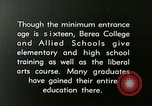 Image of elementary training Berea Kentucky United States USA, 1933, second 5 stock footage video 65675021240
