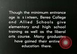 Image of elementary training Berea Kentucky United States USA, 1933, second 12 stock footage video 65675021240