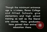 Image of elementary training Berea Kentucky United States USA, 1933, second 17 stock footage video 65675021240