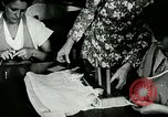 Image of girls design dresses Berea Kentucky United States USA, 1933, second 49 stock footage video 65675021246