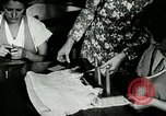 Image of girls design dresses Berea Kentucky United States USA, 1933, second 50 stock footage video 65675021246