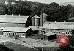 Image of a modern dairy Berea Kentucky United States USA, 1933, second 40 stock footage video 65675021250