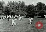 Image of Berea college student exercise Berea Kentucky United States USA, 1933, second 35 stock footage video 65675021265