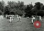 Image of Berea college student exercise Berea Kentucky United States USA, 1933, second 40 stock footage video 65675021265