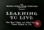 Image of Opportunity Schools Berea Kentucky United States USA, 1933, second 10 stock footage video 65675021268