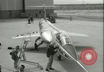Image of F-104A Starfighter California United States USA, 1956, second 32 stock footage video 65675021302