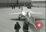 Image of F-104A Starfighter California United States USA, 1956, second 58 stock footage video 65675021302