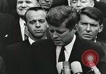 Image of John Fitzgerald Kennedy presentation to Major Cooper United States USA, 1963, second 3 stock footage video 65675021468