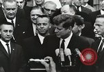 Image of John Fitzgerald Kennedy presentation to Major Cooper United States USA, 1963, second 5 stock footage video 65675021468