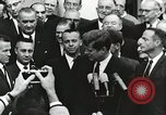 Image of John Fitzgerald Kennedy presentation to Major Cooper United States USA, 1963, second 7 stock footage video 65675021468