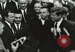 Image of John Fitzgerald Kennedy presentation to Major Cooper United States USA, 1963, second 11 stock footage video 65675021468
