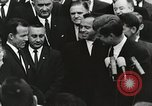 Image of John Fitzgerald Kennedy presentation to Major Cooper United States USA, 1963, second 13 stock footage video 65675021468