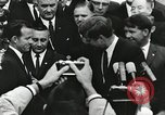 Image of John Fitzgerald Kennedy presentation to Major Cooper United States USA, 1963, second 14 stock footage video 65675021468