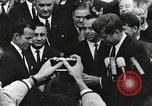 Image of John Fitzgerald Kennedy presentation to Major Cooper United States USA, 1963, second 15 stock footage video 65675021468