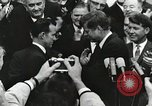 Image of John Fitzgerald Kennedy presentation to Major Cooper United States USA, 1963, second 19 stock footage video 65675021468