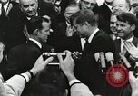 Image of John Fitzgerald Kennedy presentation to Major Cooper United States USA, 1963, second 20 stock footage video 65675021468