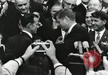 Image of John Fitzgerald Kennedy presentation to Major Cooper United States USA, 1963, second 21 stock footage video 65675021468