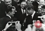 Image of John Fitzgerald Kennedy presentation to Major Cooper United States USA, 1963, second 23 stock footage video 65675021468