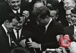Image of John Fitzgerald Kennedy presentation to Major Cooper United States USA, 1963, second 26 stock footage video 65675021468