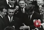 Image of John Fitzgerald Kennedy presentation to Major Cooper United States USA, 1963, second 27 stock footage video 65675021468