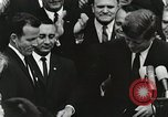 Image of John Fitzgerald Kennedy presentation to Major Cooper United States USA, 1963, second 29 stock footage video 65675021468