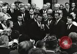 Image of John Fitzgerald Kennedy presentation to Major Cooper United States USA, 1963, second 33 stock footage video 65675021468