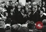 Image of John Fitzgerald Kennedy presentation to Major Cooper United States USA, 1963, second 34 stock footage video 65675021468