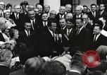 Image of John Fitzgerald Kennedy presentation to Major Cooper United States USA, 1963, second 35 stock footage video 65675021468
