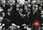 Image of John Fitzgerald Kennedy presentation to Major Cooper United States USA, 1963, second 37 stock footage video 65675021468