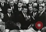 Image of John Fitzgerald Kennedy presentation to Major Cooper United States USA, 1963, second 39 stock footage video 65675021468