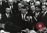 Image of John Fitzgerald Kennedy presentation to Major Cooper United States USA, 1963, second 41 stock footage video 65675021468