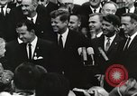 Image of John Fitzgerald Kennedy presentation to Major Cooper United States USA, 1963, second 42 stock footage video 65675021468