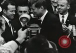 Image of John Fitzgerald Kennedy presentation to Major Cooper United States USA, 1963, second 45 stock footage video 65675021468