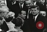 Image of John Fitzgerald Kennedy presentation to Major Cooper United States USA, 1963, second 49 stock footage video 65675021468